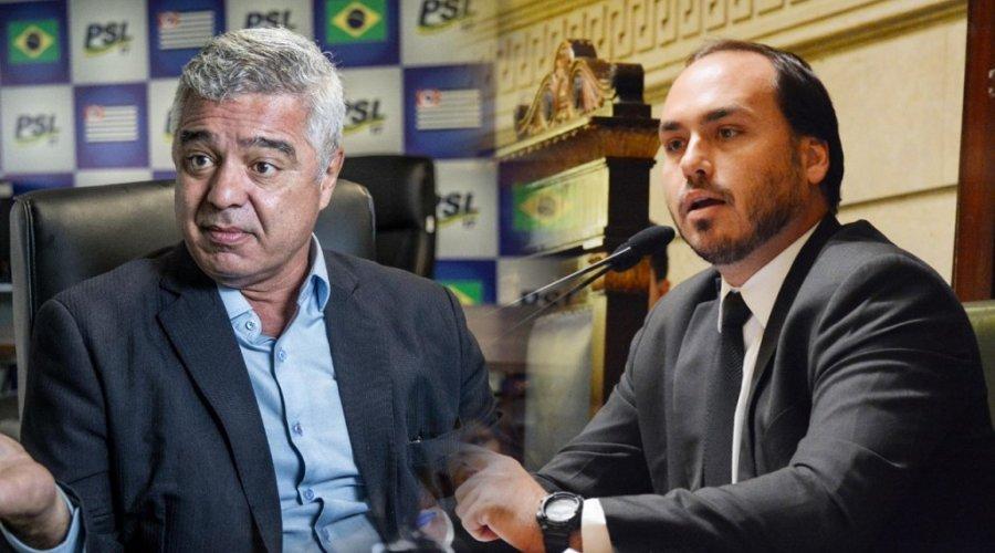 [Major Olimpio sugere que Bolsonaro interne filho em clínica psiquiátrica ]
