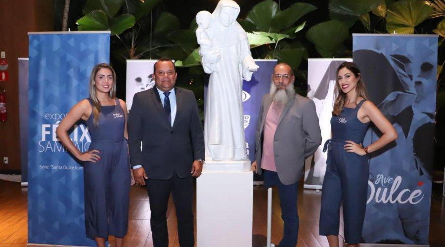 [Geraldo Júnior convida Félix Sampaio para realizar exposição Ave Dulce na Câmara Municipal]