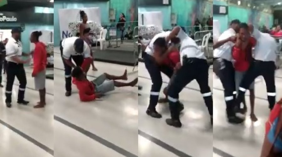 [Vídeo: após suposto furto de chave de fenda, homem toma