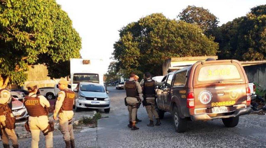 Feira de Santana: homem morre em troca de tiros com a Rondesp Leste - PNotícias